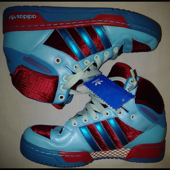 75edbbb8104 Adidas Metro Attitude De Lux Velvet Size 5.5